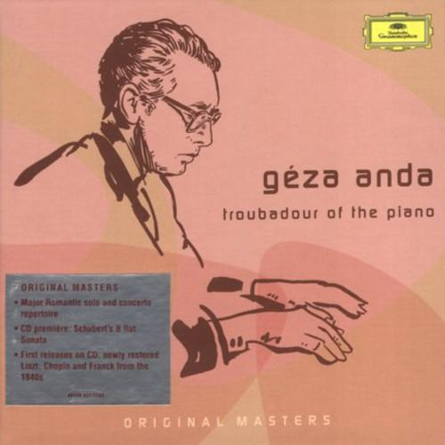 Géza Anda ~ Troubadour Of The Piano (Box) (Rmst) (Spkg)