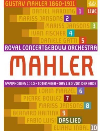 Royal Concertgebouw Orchestra ~ Symphonies 1 10 / Das Lied Von Der Erde (11 Pc)