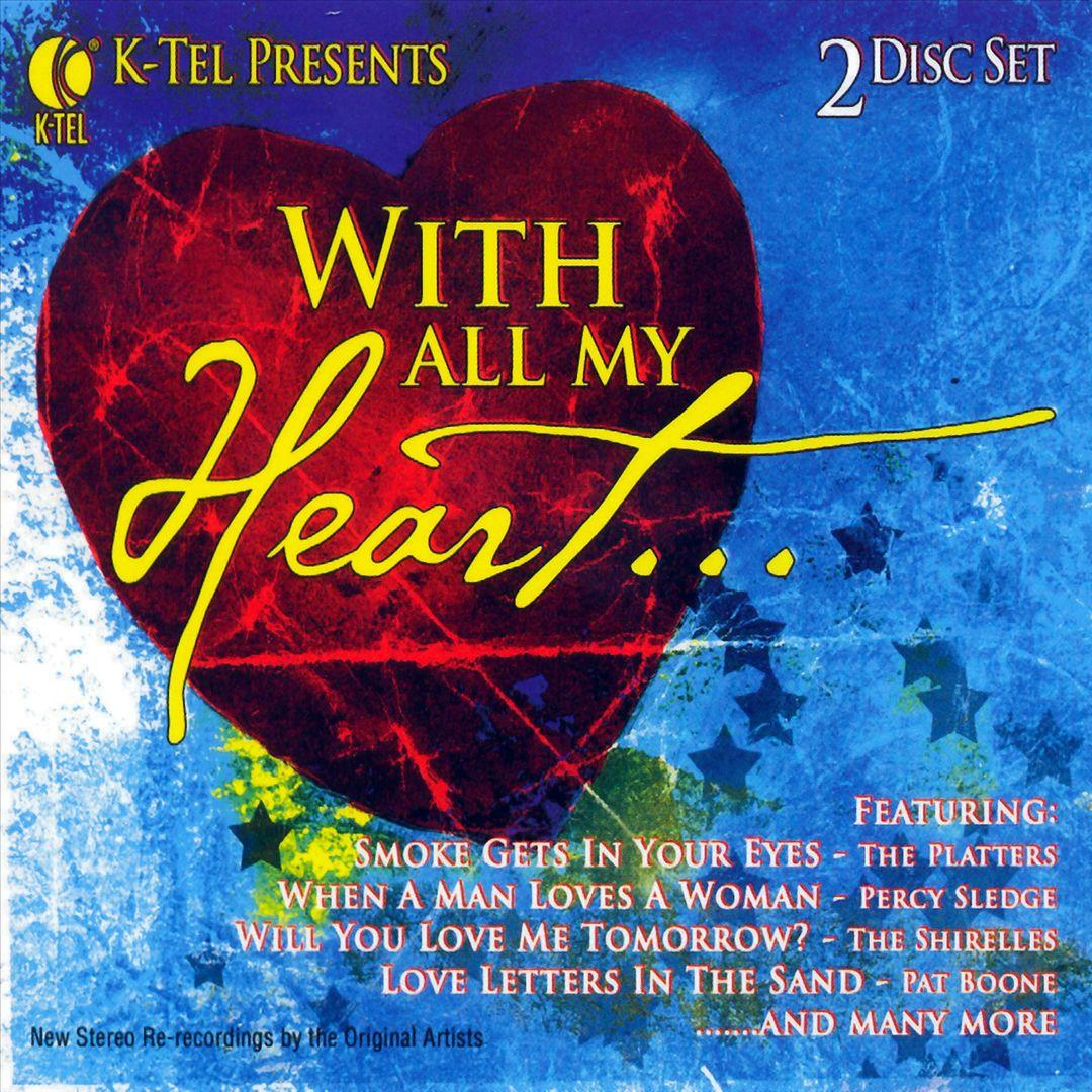 Various Artists ~ With All My Heart2 Cd Set