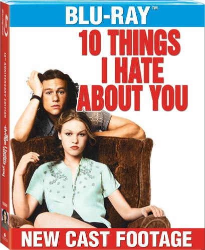 Image of 10 Things I Hate About You [10th Anniversary Edition] [2 Discs] [Includes Digital Copy] [Blu-ray]
