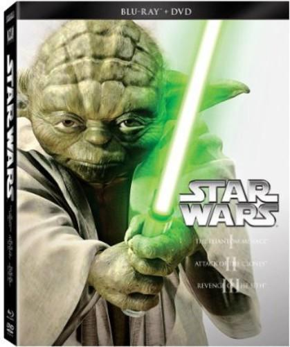 Image of Star Wars Trilogy: Episodes I-III [6 Discs] [Blu-ray/DVD]