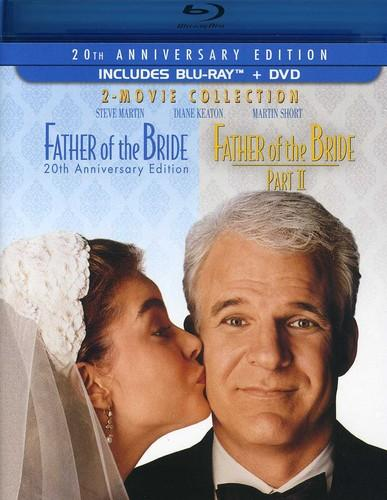 Father of the Bride: 2-Movie Collection [20th Anniversary Edition] [3 Discs] [Blu-ray/DVD]